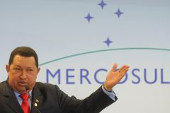 "President Chavez said that with Mercosur ""our north is the south"""
