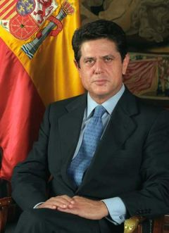Federico Trillo-Figueroa, the new Spanish ambassador in London, a political nominee