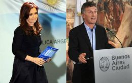 Cristina Fernandez and Mauricio Macri dispute holds Buenos Aires commuters hostage