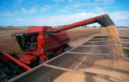 The soy harvest expected to drop t0 65.8 million tons