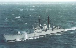 HMS vessels with the Scottish capital name have been around since 1707