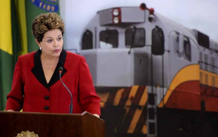 President Rousseff: Brazil must have infrastructure compatible with its size