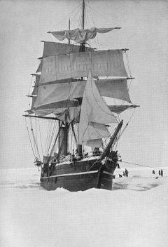 SS Terra Nova at the beginning of last century; she sank off Greenland in 1943