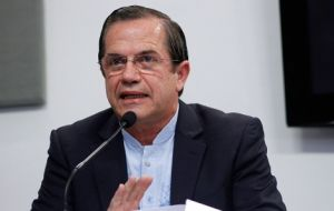 Ecuadorean minister Patiño confirmed a round of regional organizations meetings