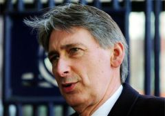 "Secretary Hammond, ""a time of difficult decisions about Defence spending"""