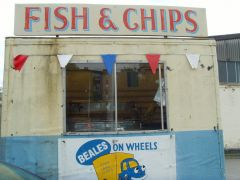 Fish and chips 'truly' British until mid August, then the 'imported stuff'