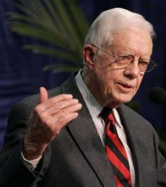 "The Centre founded by former president Jimmy Carter said it ""received the invitation too late"""