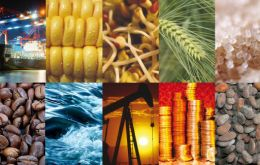 Improved prices for commodities and for manufactured goods of farm origin have helped