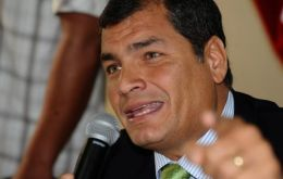 "President Correa: the ""unfortunate incident is over"""