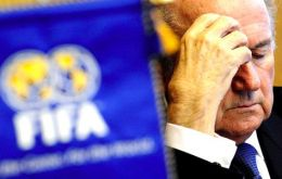 The spotlight is now on FIFA' chief Blatter