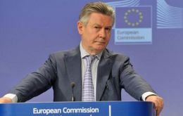 De Gucht says EU prepared for a Mercosur with Venezuela, which adhered to free movement of goods and services in 2006