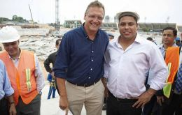 Jerome Valcke with Ronaldo and Luis Fernandes checking the Manaus infrastructure 9