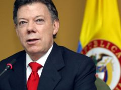 "President Santos so far admitted ""exploratory conversations"""