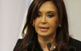"""Not a step back"", promised Cristina Fernandez, but…"