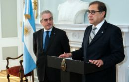"Argüello said the ""ghosts"" are agitated by lobby sectors from developed countries"
