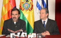 Deputy Foreign minister Alurralde made the announcement during talks with his Uruguayan counterpart Conde