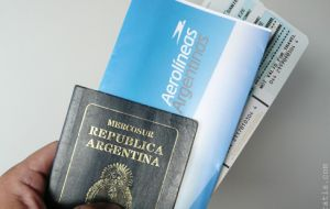 Argentines travelling abroad will have to pay more for tickets and packages