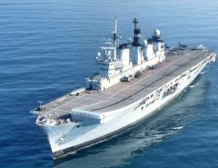 The last of the ships to be decommissioned, HMS Illustrious, is due to retire from the Royal Navy in 2014