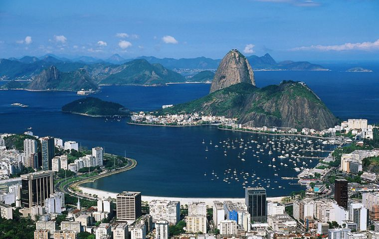 Rio do Janeiro where the value of housing on average has soared 165% in four years