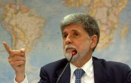 Defence minister Celso Amorim made the announcement