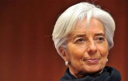 Managing Director Christine Lagarde will again report to the issue December 17