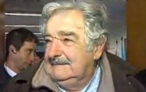 "The storm left President Mujica a ""bloody nose"""