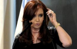 The Argentine president has scheduled visits to two prestigious US universities