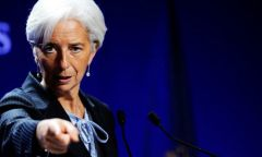 Ms Lagarde: three months to show improvement and avoid the red card