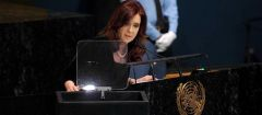 """I must tell you I expect results from this meeting"" said Cristina Fernandez"