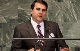 President Franco addressing the UN assembly recalled the holocaust of the Triple Alliance.