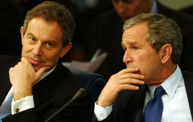 Blair was the only world leader to which former President George Bush listened to