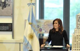 The Argentine president is in Peru for the ASPA meeting with Arab countries