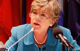 Ms Barcena, ECLAC Executive Secretary, countries in the region are in a position to face worsening external conditions