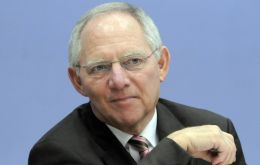 German Finance Minister Schaeuble: Spain doing all that is necessary
