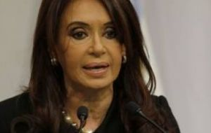 Reliable stats and inflation remain irritating issues between the IMF and Cristina Fernandez