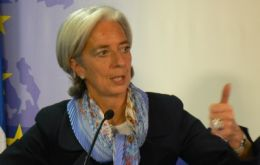 Christine Lagarde: cutting too far, too fast would do more harm than good