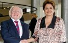 Higgins and Rousseff had a 90 minutes meeting at the Planalto Palace
