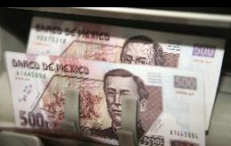 The Mexican Peso is stronger on greater growth expectations are lesser government intervention