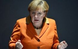 Merkel sets out Germany's conditions: no more cosmetic accounting  (Photo. AFP)