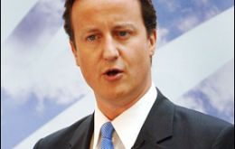 Cameron is expected to give a strong speech on Monday to recover the initiative