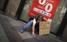 The poverty line stands at 7.355 Euros annually
