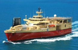 M/V Ramform Sterling will begin 3D surveying for FOGL and Noble in November