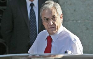A warning sign that will not and should not go unnoticed, said Piñera