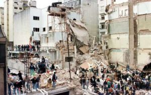 The attack on AMIA in downtown Buenos Aires killed 85 and injured 300
