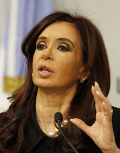 We need the dollars for our importers to buy basic inputs for industry, said the Argentine president