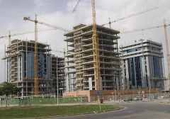 The booming real estate and construction industries have suffered a severe blow