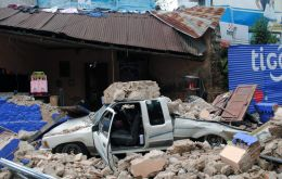 The strongest quake to hit Guatemala since 1976, which killed 23.000 (Photo AFP)