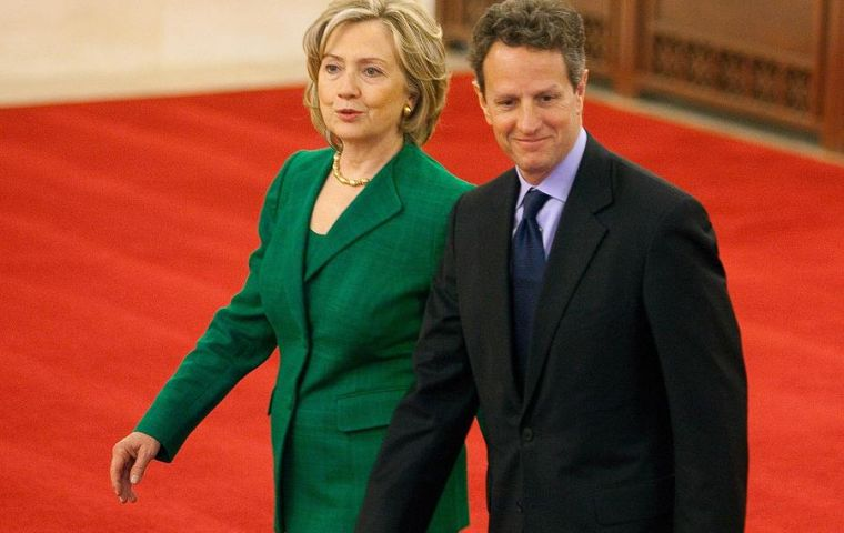 Timothy Geithner and Hillary Clinton are stepping down from cabinet