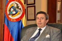 Ambassador Alberto Barrantes is back in Asunción after an absence of four months