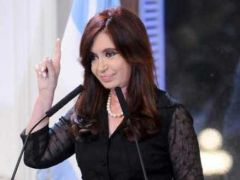 CFK ironic statement about the great event of Thursday, a new president in China, infuriated the political system